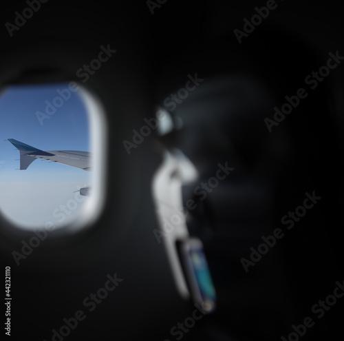 Airline, Aircraft, Flugzeug mit Aussicht