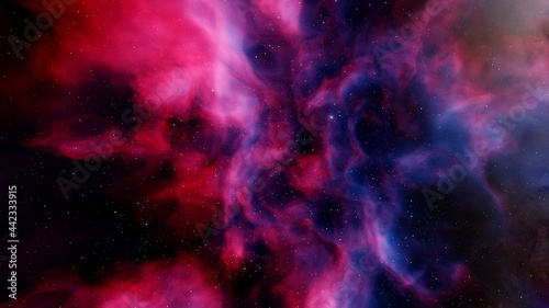 Canvas abstract background, abstract space background, abstract gas, nebula, unusual br