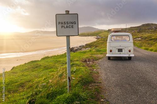 Fotografija Campervan Road Trip to the Outer Hebrides, Scotland