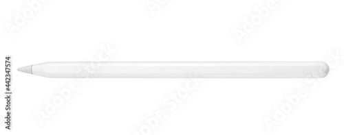 Fotografia, Obraz Digital pencil for tablet isolated on white background