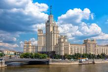 Skyscraper On The Kotelnicheskaya Embankment In Moscow