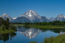 Teton Mountain Reflection