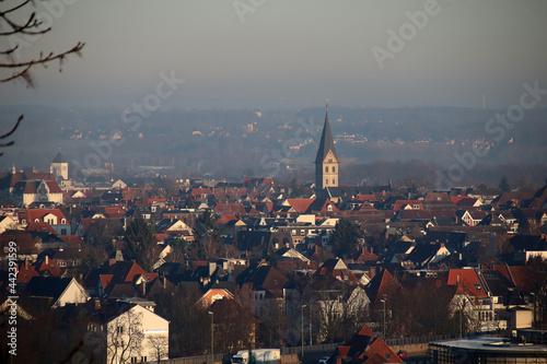 Kulissen rund um Bielefeld Fototapet