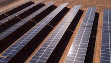 Solar Array In Remote Australia