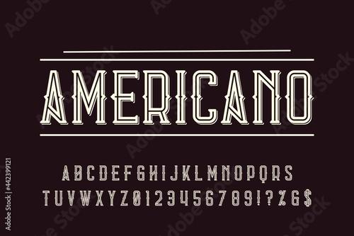 Fotografia Font, Alphabet, Typeface, Typography, Lettering, Hand drawn, Script, Vintage fon