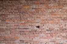 Brick Wall Texture One Brick Missing