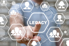 Concept Of Legacy. Transfer Of Experience And Skills To The Next Generation Of People. Heritage.