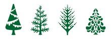 Christmas Tree Vector Collection