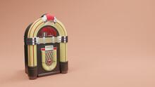 Jukebox Radio Old Vintage , 3D Rendering