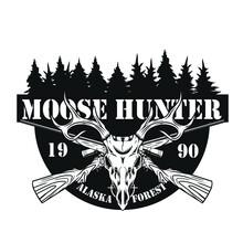 Moose Hunter Logo