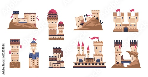 Fotografiet Medieval castle