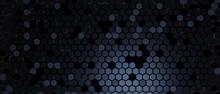 Hexagon Modern Abstract 3D Illustration Background Wallpaper