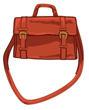 Fashionable Bag Design With Straps And Clasps
