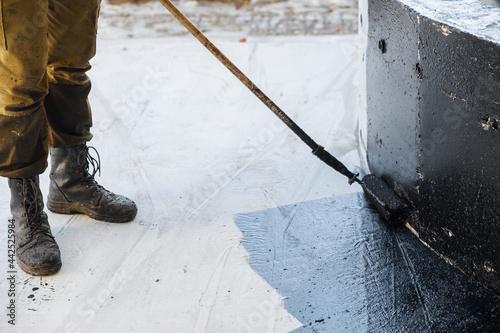 Fotografie, Obraz Waterproofing coating