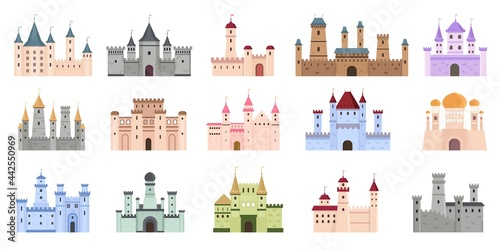 Fotografiet Medieval castles