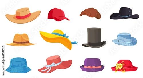Fotografia, Obraz Cartoon hats