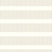 Minimal Ecru Jute Plain Stripe Texture Pattern. Two Tone Washed Out Beach Decor Background. Modern Rustic Brown Sand Color Design. Seamless Striped Burlap Pattern For Shabby Chic Coastal Living.