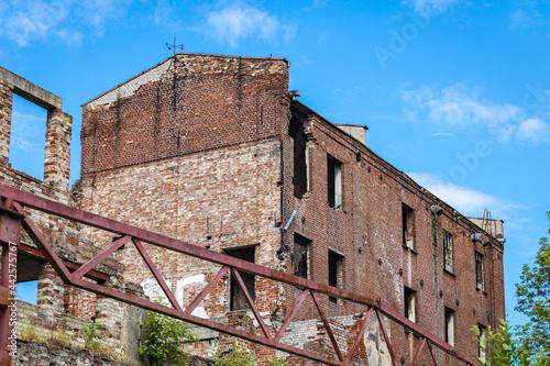 Fotografia Opuszczony budynek.