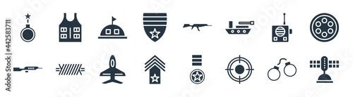 Fotografia, Obraz army and war filled icons