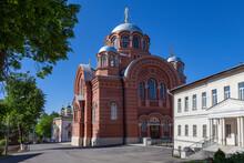 Pokrovsky Khotkov Monastery In Khotkovo On The Pazhe River