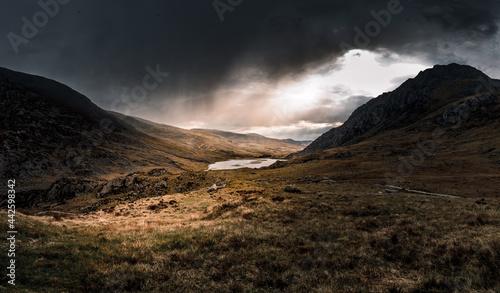 Mountains before rain