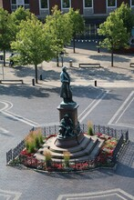 Theodor - Heuss - Platz In Bremerhaven, Germany