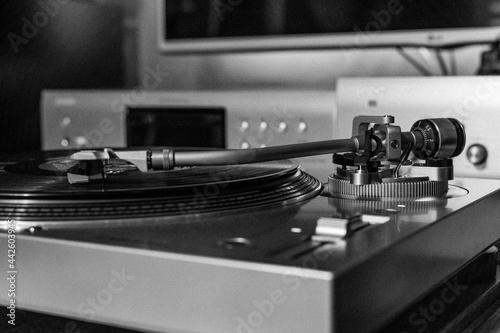 Muzyka z gramofonu