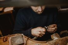 Crop Goldsmith Polishing Ring