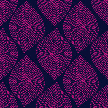 Hand Drawn Boho Seamless Background. Abstract Dotted Shapes Natural Ethnic Seamless Textile And Fabric Design.