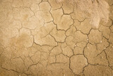 Cracked and dry soil background