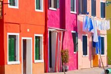 Farbenfrohe Insel Burano, Venedig, Italien