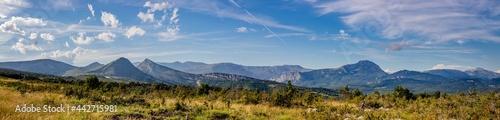 Fotografiet Panorama des gorges du Verdon ou Grand Canyon du Verdon