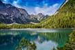 Blick auf den Pragser Wildsee - Lago di Braies