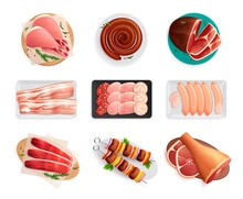 Meat Products Set