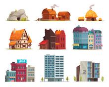 Architectural Housing Evolution Set