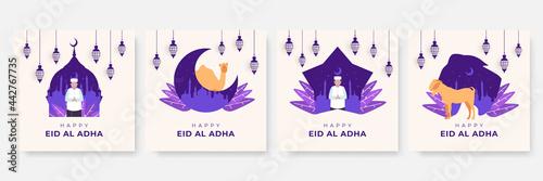 Tela Eid Al Adha Mubarak Background