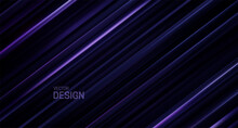 Abstract Background With Black And Purple Sliced Surface