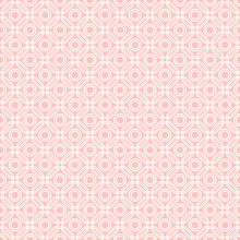 Geometric Abstract Vector Octagonal Background. Geometric Abstract Pink Ornament. Seamless Modern Pattern