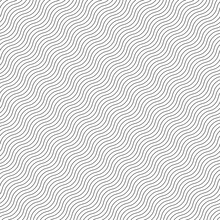 Wavy, Waving, Squiggle Lines Seamless Pattern, Background