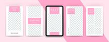 Set Of Pink Stationery