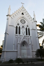 Holy Family Chapel Of The Good Shepherd Curia. Before, It Was An Asylum Called Conde Pereira Marinho And Colégio Das Irmãs Dorotéias. Built In Neo-Gothic Style In 1895