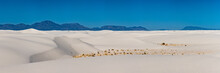 Panorama Of White Sands And The San Andres Mountains