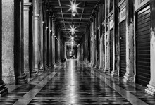 Corridor In San Marco Square, Venice