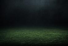 Professional Soccer Field Stadium Background