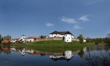 Stronghold Zumberk (Sonnberg In German) By Nove Hrady In Southern Bohemia, Czech Republic