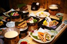 Traditional Japanese Meal Kaiseki Cuisine