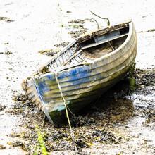 Abandoned Rowing Boat