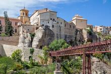 Bridge The Old Town Of Cuenca