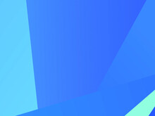 Abstract Blue Design For Web Banners, Wallpaper, Cards. Common Background. Vector Illustration