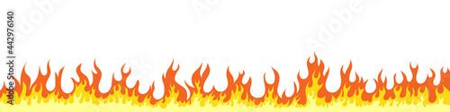 Obraz na plátně Fire flames